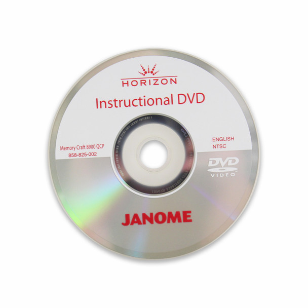 Janome Horizon Memory Craft 8900QCP Special Edition Sewing and Quilting Machine - Instructional DVD