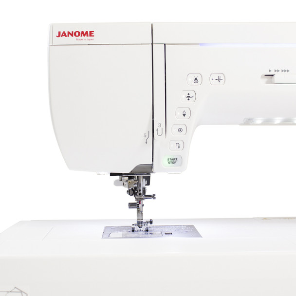 Janome Memory Craft 14000 Sewing and Embroidery Machine with New Exclusive Bonus Bundle