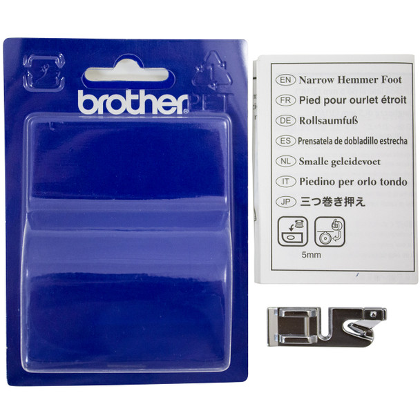Brother SA127 - Narrow Hem Foot