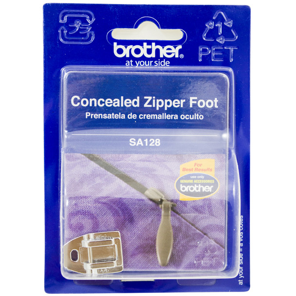 Brother SA128 - Concealed Zipper Foot