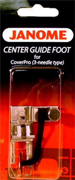 Janome CoverPro Center Guide Foot
