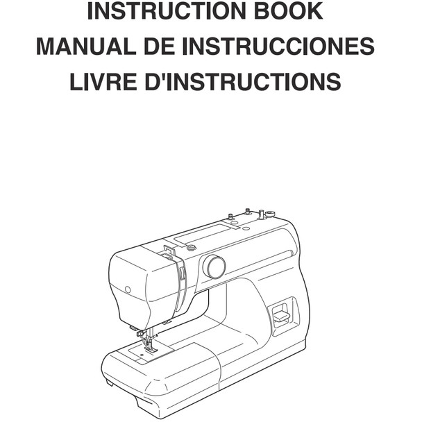 Janome 2206 Sewing Machine - Included Instruction Manual