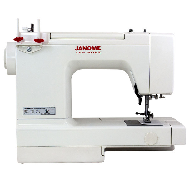 Janome HD1000 Sewing Machine - Rear View