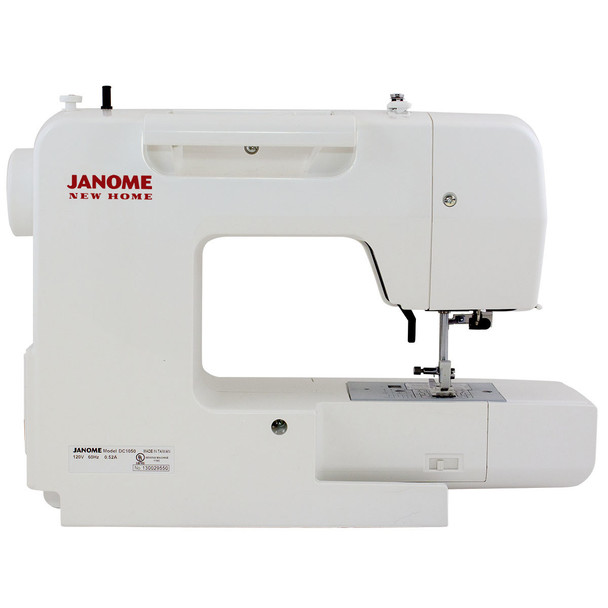 Janome DC1050 Computerized Sewing Machine - Rear View