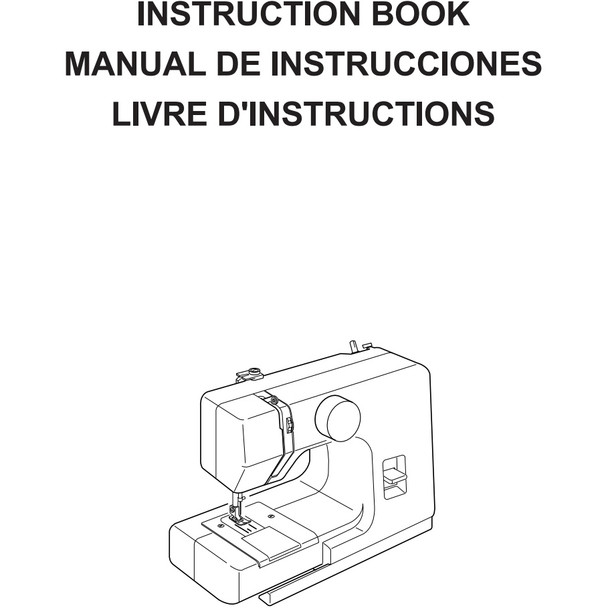 Janome Sew Mini Sewing Machine Included Instruction Manual