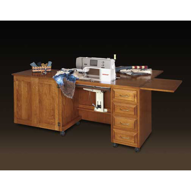 Please Note: Cabinet shown with optional drop leaf. Drop leaf is not included