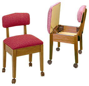 comfee 8300 skipper sewing chair by stump home specialties $279.99