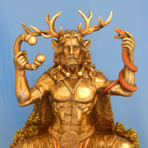 Cernunnos Sitting - Celtic God