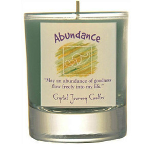 Abundance Glass Filled Votive Candle
