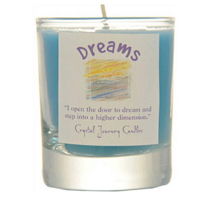 Dreams Glass Filled Votive Candle