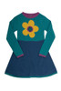 Flower Knitted Dress - Organic Cotton