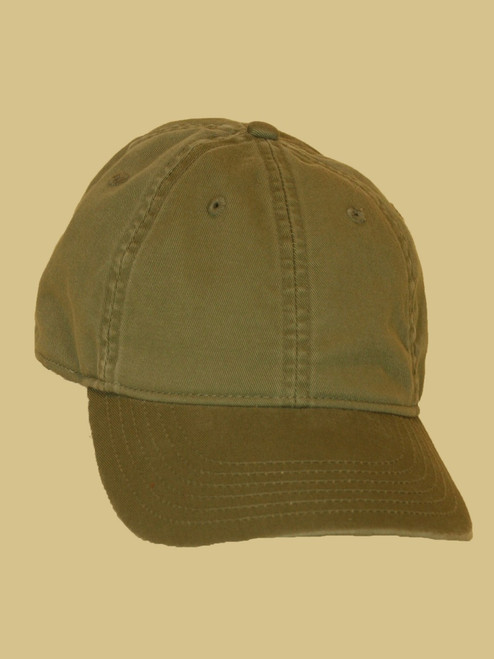 Jungle Green Baseball Cap - 100% Organic Cotton