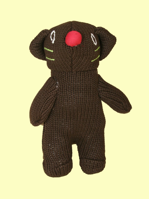 Cat Plush Doll . Organic Cotton - Fair Trade