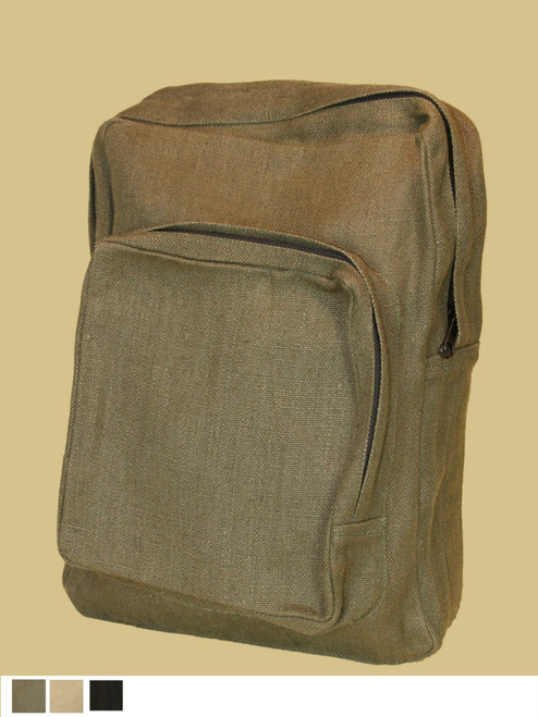 Hemp College Backpack