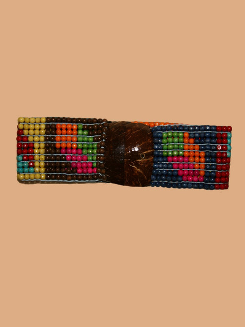 Rectangle Coconut  & Cube Belt