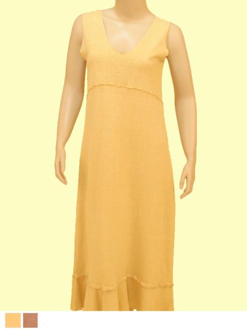 Sophie Dress - 55% Hemp / 45% Organic Cotton Jersey