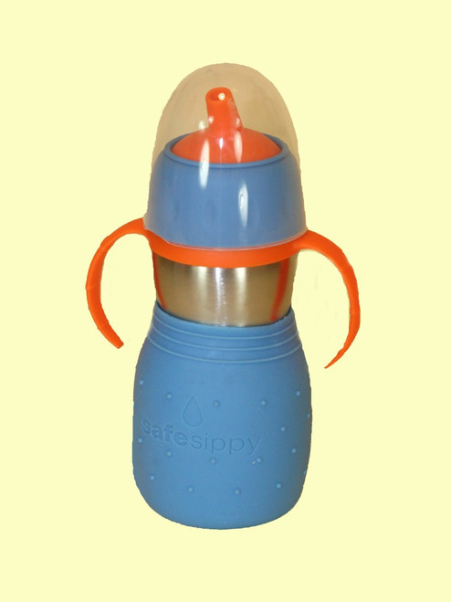 The Safe Sippy 2 Blue 11oz - Stainless Steel