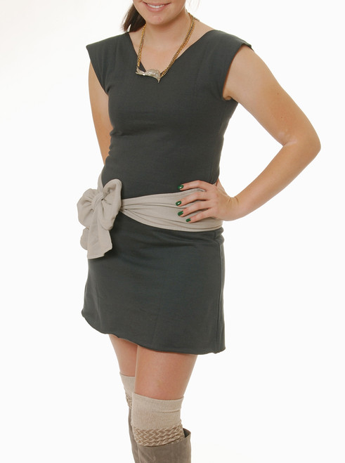 Fleece Tunic Dress - Organic Cotton