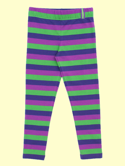 Stripy Leggings - Organic Cotton