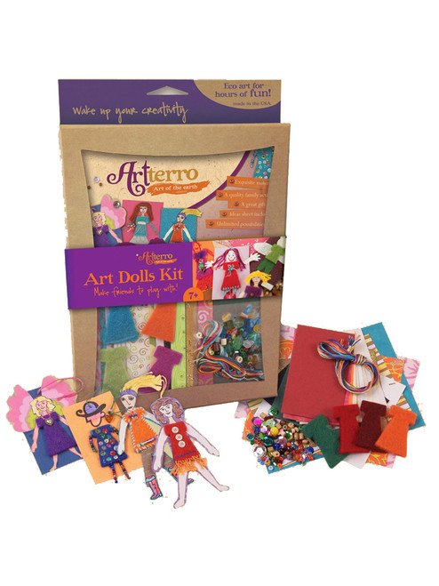 Art Dolls Kits - Recycled Materials