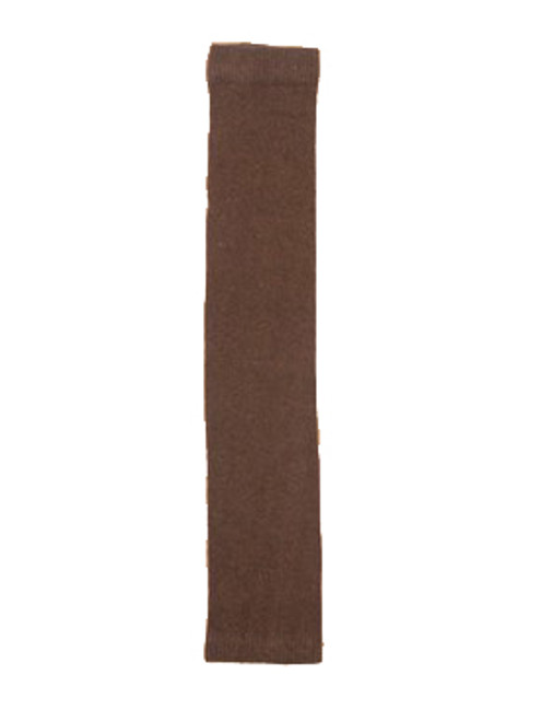 Solid Chocolate - Paired Arm Or Leg Warmers - Recycled Fibers
