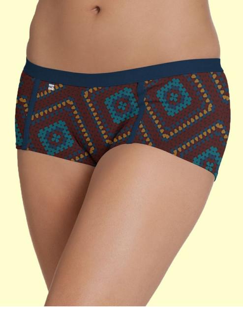 Women Boy Short Crochet Blanket - Organic Cotton