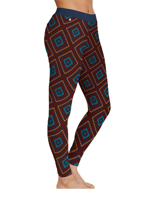 Women Legging Crochet Blanket - Organic Cotton