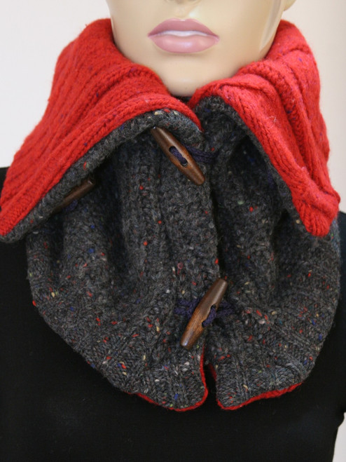 Aspen Snood Scarf Confetti - Recycled Material