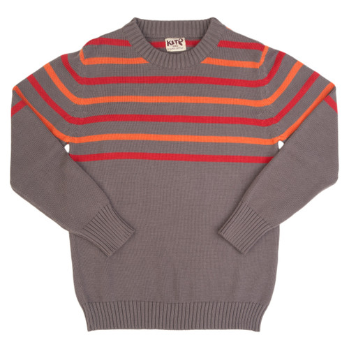 Stripy Sweater -  Organic Cotton