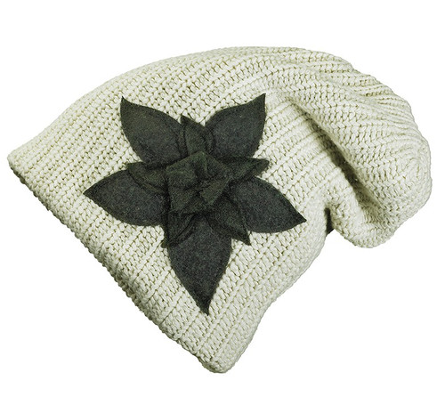Charlie Slouch Beanie - Up-cycled Materials