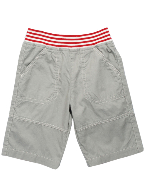 Organic Cotton Baby Boy  Zig zag Trim Short - Fair Trade