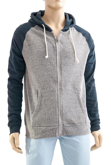 Men's Zip Front Hoody - Sustainable and Organic Cotton