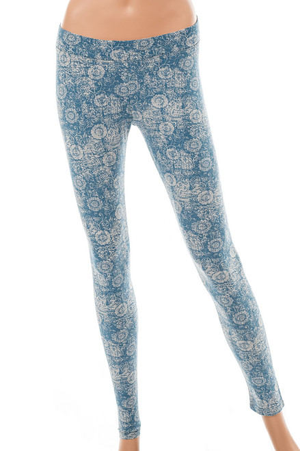 Women's  Organic Cotton Saloon Leggings