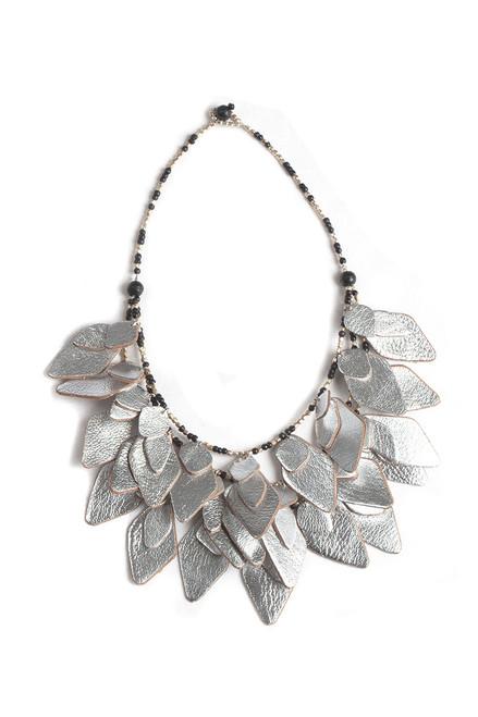 Ramsha Leaf Necklace
