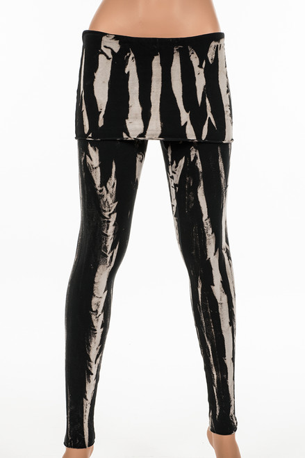 Potassium Wash French Terry Fold Over Leggings