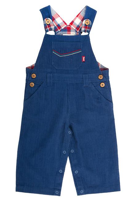 Baby Boy Corduroy Overall - Organic Cotton