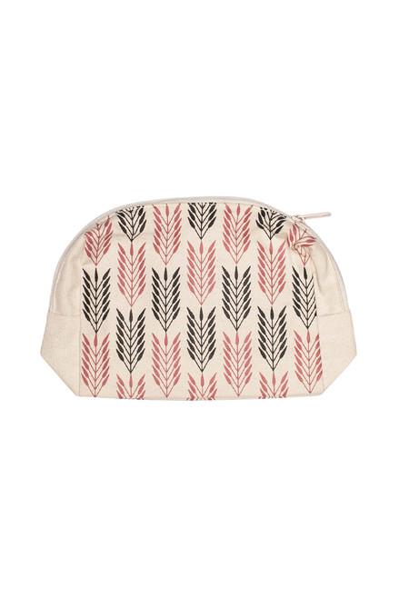 Picaya Print Makeup Bag- Organic Cotton