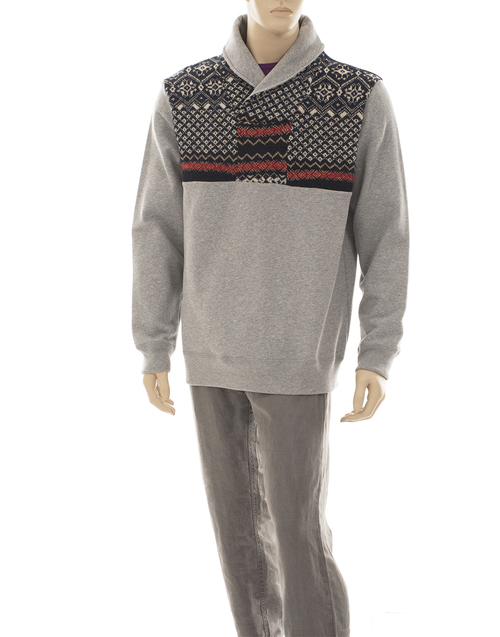 Chris Men's Sweater - Recycled Materials