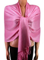 Pashmina Solid Light Pink #2-19
