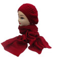 Soft Knit  Fashion Beret Scarf Sets Assorted Dozen # H1503