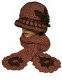 Thick Soft Knit Hats Scarf Sets Assorted Dozen # H1234