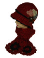Thick Soft Knit Hats Scarf Sets Assorted Dozen # H1236