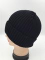 Unisex Beanie Hats Black Dozen #H1150BK