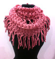 Metallic Knitted  Loop  Infinity Scarf Assorted Dozen #397