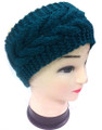 Plain Braided Winter Knit Headband Assorted Dozen # HB 057