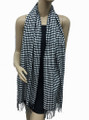 Cashmere Feel  Two Tone Houndstooth Pattern Assorted Dozen K72