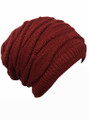 Unisex Knit Crochet Oversized Hats Assorted Dozen #H1126