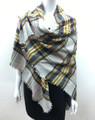 Womens Stylish shawl  Scarf  Blue # P171-10218