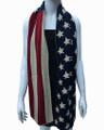 USA American Flag Knit  Scarf Dozen  #561
