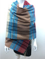Multi Color Scarf  Turquoise  #S 79-2